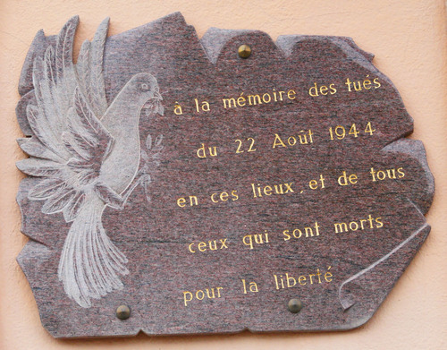 * PARAY-LE-MONIAL, 22 août 1944 les patriotes en action