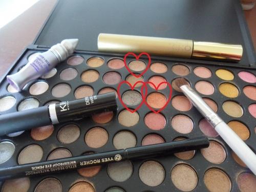 Petit Make Up avec la Warm Shimmer Palette de Zoeva