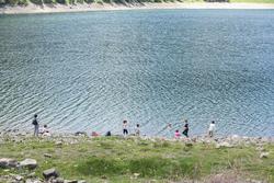 Famille/nonsco : lac de l'Oule (Néouvielle) - 65