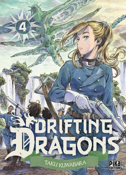 Drifting dragons - Tome 04 - Taku Kuwabara