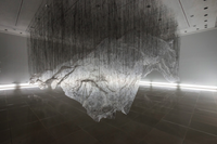 floating mountain,Yasuaki Onishi, rice gallery, installation
