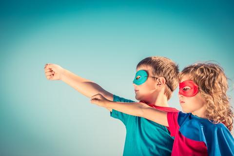 Comment être un programme d'études du ministère des enfants de super-héros