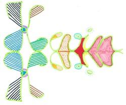 Prénoms et arts visuels 2 : prénoms reflets