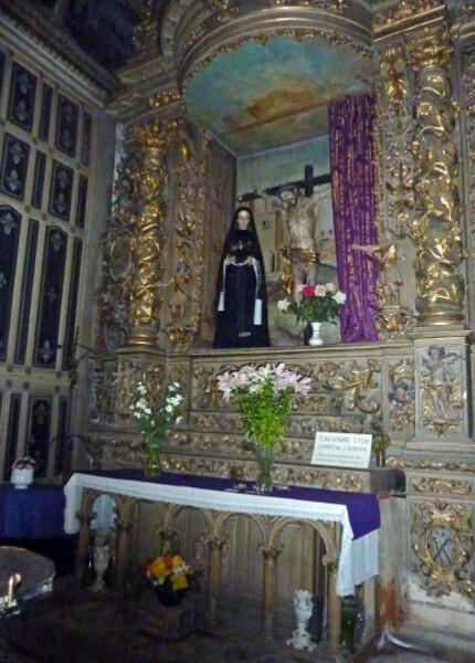 Collioure - Eglise Retable du Précieux Sang