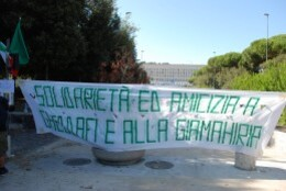 solidarietà gaddafi