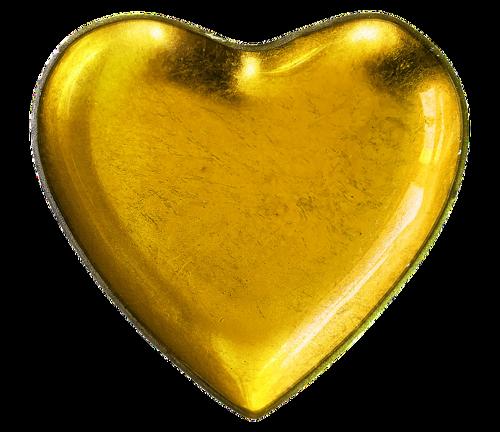 Un coeur de pierre et un coeur d'or