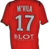 Yann MVILA : Maillot porté avec RENNES le 16.01.20100