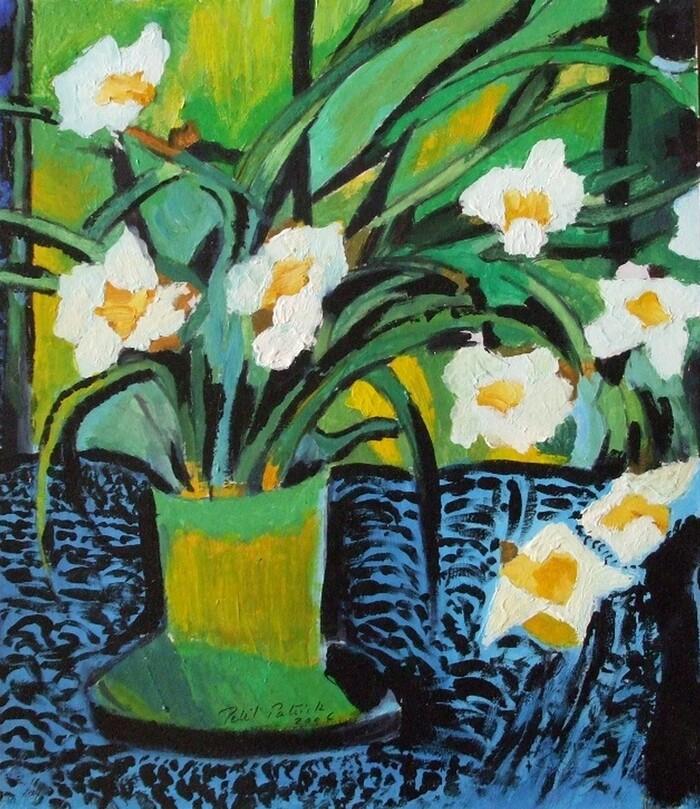 Fleurs (abstrait)