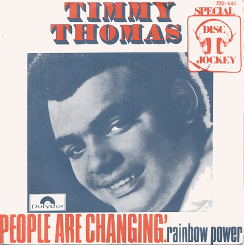 "Timmy Thomas : Album "" Why Can't We Live Together "" Glades Records ST-6501 [ US ]"