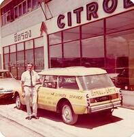 Vendeur Citroen Bangkk 1968 Source Inconnue