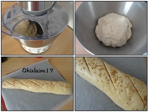 Mon Robot Pâtissier ... et mon 1er pain au robot