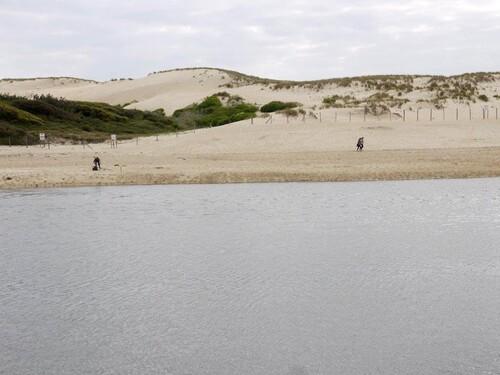 La grande plage de vieux Boucau
