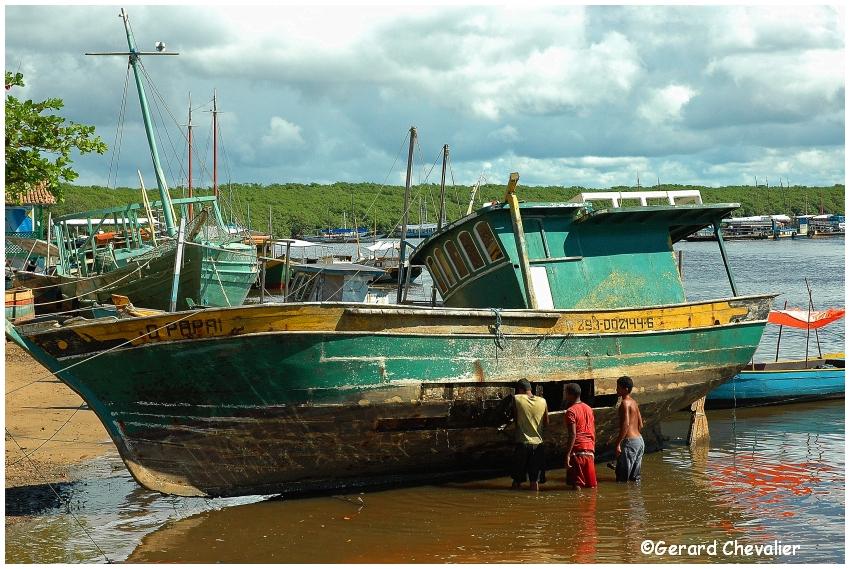 Santa Cruz Cabralia - Le port  2.