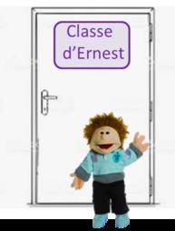 Des portes de classe bien décorées