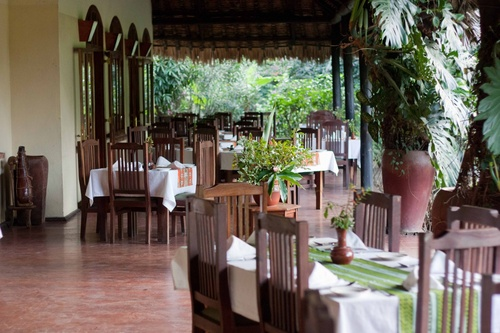 "Moivaro Coffee Lodge : ""salle"" de restaurant"