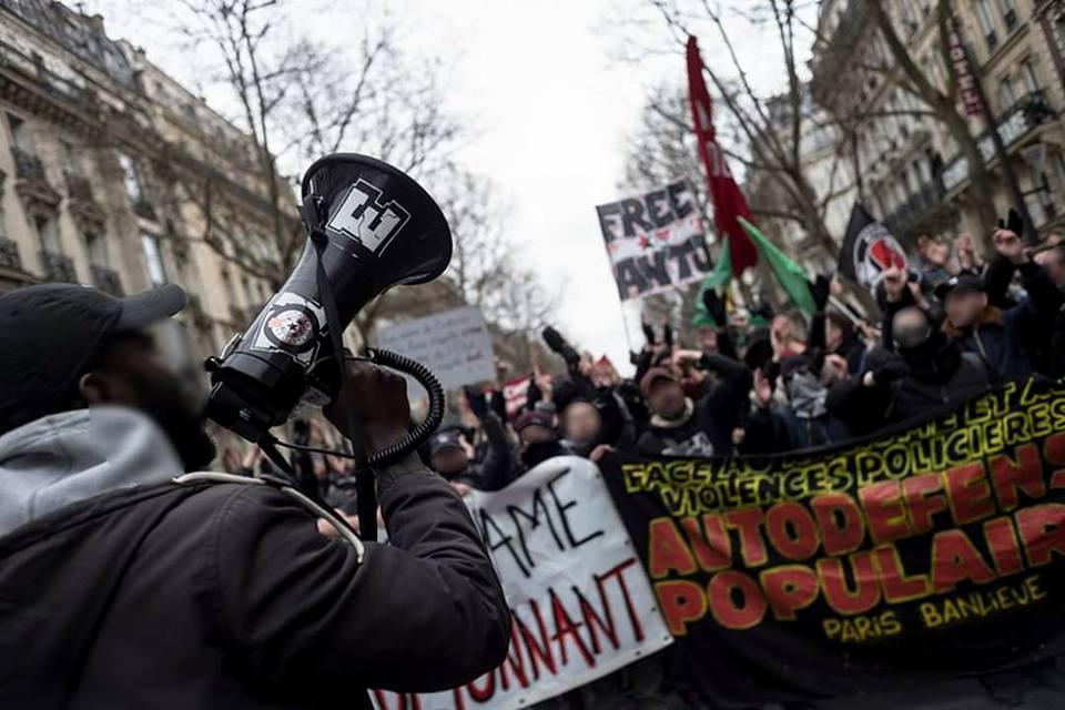 Marche du 19 mars - Portfolio (focus particulier sur le cortège révolutionnaire)