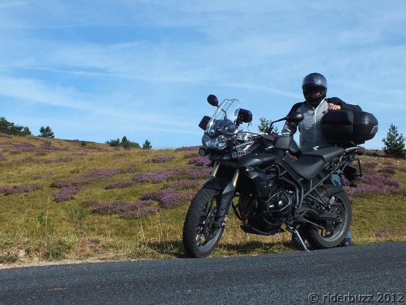 Trois jours de moto des burons du Cézallier au pays Cévenol...