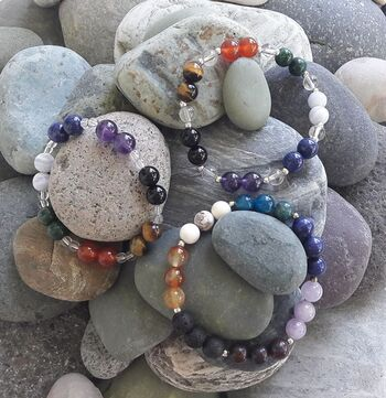 Bracelet Minéraux et Chakras