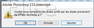 "Ecriture avec "" style"""