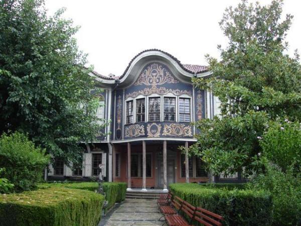 Jour 9 - Plovdiv - Façade Musée ethnographique