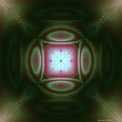 fractale verte