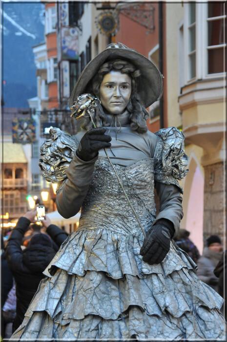 Autriche, dans les rues d'Innsbruck