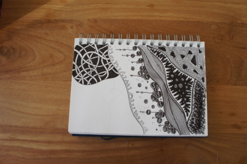 Zentangle page 9