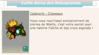 Coiffe reine Moboplantes