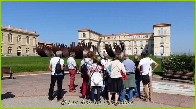 La visite du fort St Nicolas