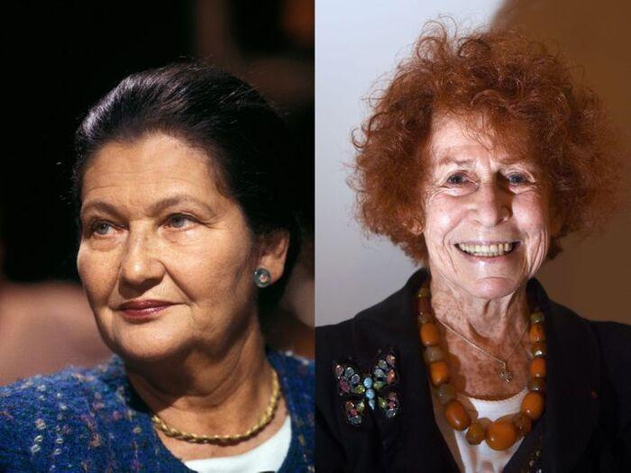 Simone Veil et Marceline Loridan-Ivens  les jumelles contradictoires