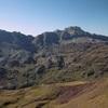 Du sommet du pic de Gabedaille (2258 m), le Visaurin et la sierra de Secús