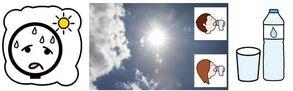 Canicule, Heat wave, Ola de calor, Ondata di calore, Hitze, Värmebölja, موجة حر شديد