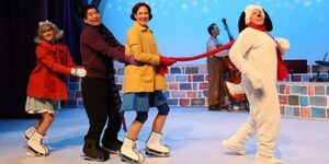 dance ballet class charlie brown christmas live onstage