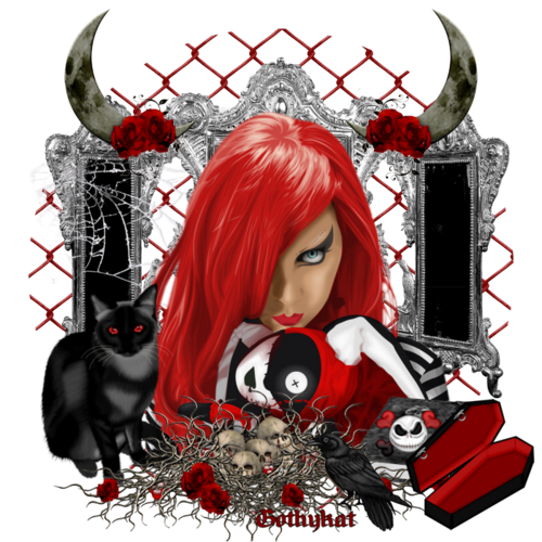 fille au cheveux rouge