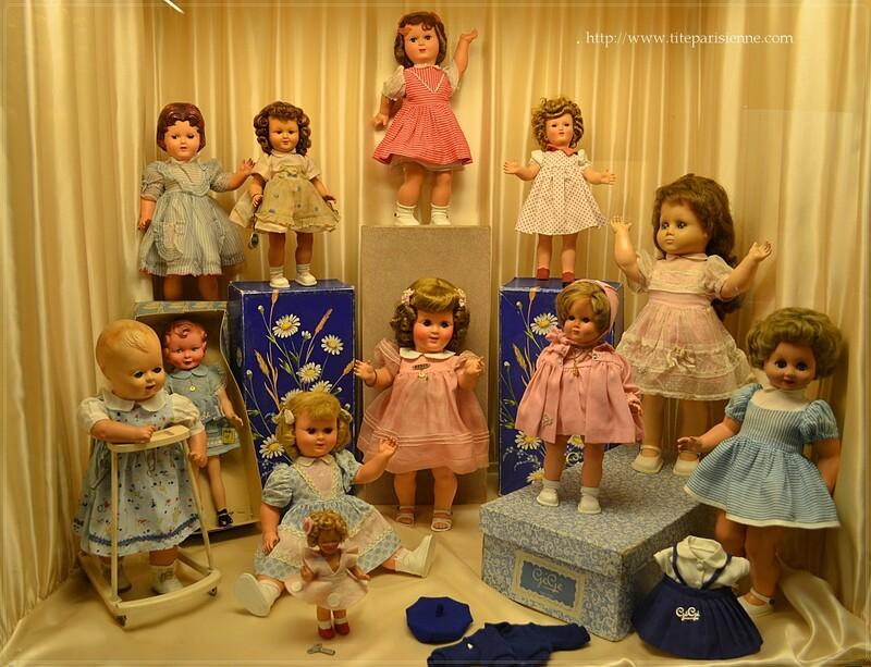 Le Musée de la Poupée : Collection permanente : Salle 3 : Elles marchent !