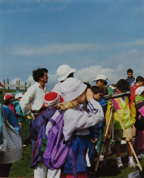 Classe de découverte dans les Vosges 1990