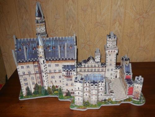 Puzzle 3 D du  Château de Neuschwanstein