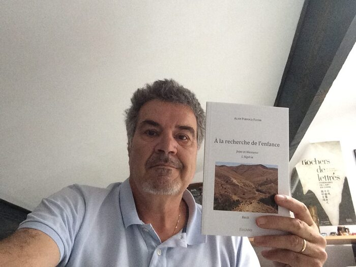 Alain Pebrocq-Favier une enfance algérienne