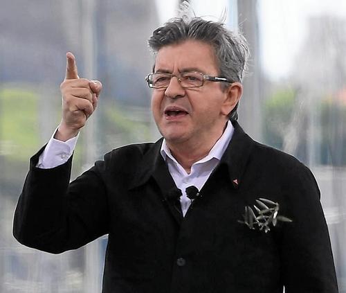 Mélenchon se pose en « candidat de la paix » (OF-10/04/2017)
