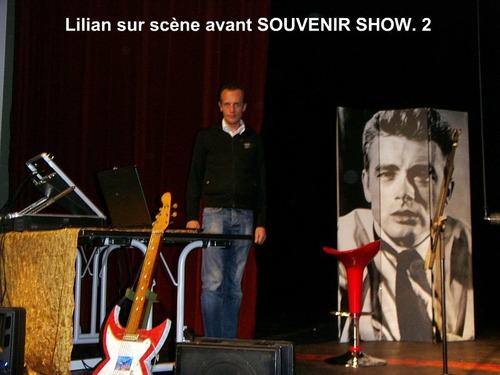 Lilian, mon fils, sur scène avant le spectacle