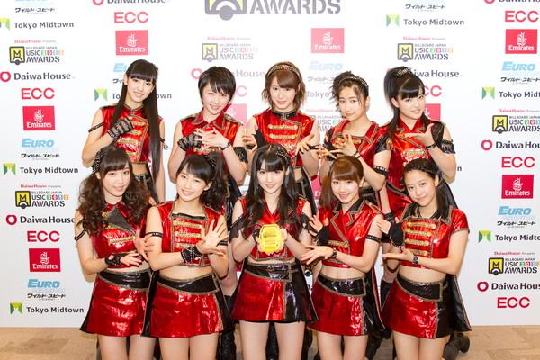 Morning Musume bilboard japan awards 2013