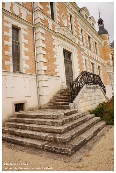 Château de Clermont Louis de Funés