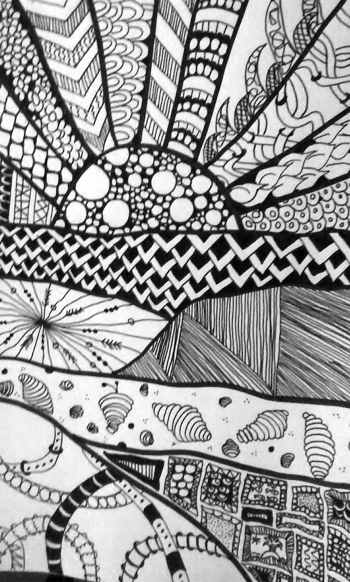 Coloriages et zentangles