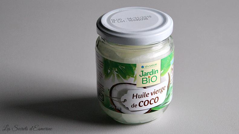 Layering : huile de coco démaquillage