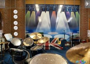 Jouer à Point and click escape music room