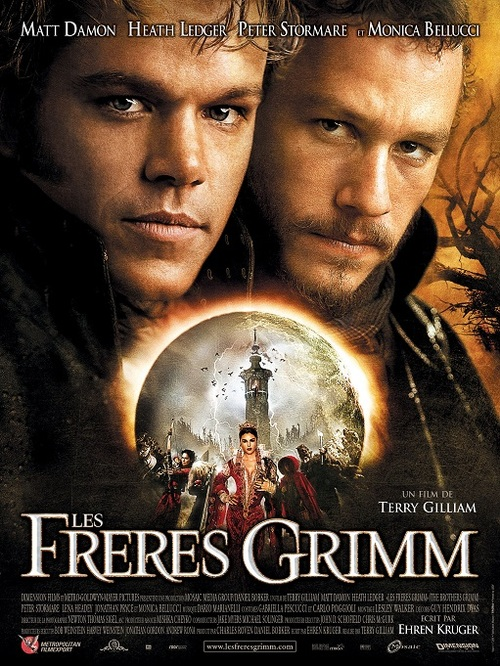 LES FRERES GRIMM BOX OFFICE FRANCE 2005