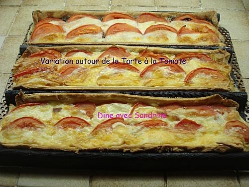Variation autour de la Tarte à la Tomate 8