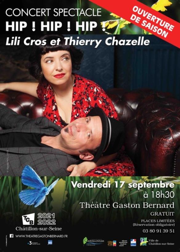 Soirée d'ouverture de la saison théâtrale 2021-2022 au Théâtre Gaston Bernard....