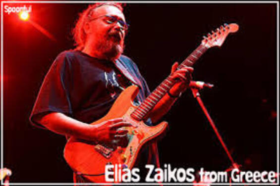 ZAIKOS, Elias (Blues Wire Blues Greek Band) - Slabo Day  (Blues)