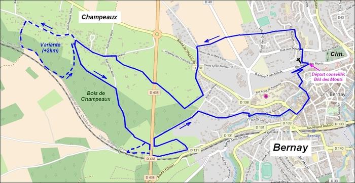 Le circuit Champeaux